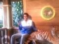 Сфоткался с тигром