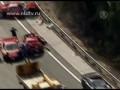8 феррари, 3 мерседеса и ламборгини в одной аварии