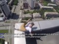 Rooftopper Hangs Off 40 Storey Building