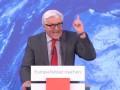 DIE WELT Video: Steinmeier schreit Gegner nieder