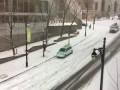 Crazy car pileup on Beaver Hall, Dec 5