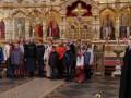 Детский православный хор беженцев из Донецка поют песню о России