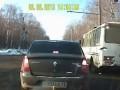 Протаранил и скрылся ( ДТП Саранск Mazda)