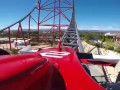 Red Force Official On Ride HD POV Ferrari Land PortAventura World