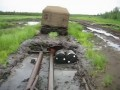 Витязь прёт через болото