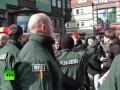 Протест против строительства мечети в Германии