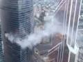 Вечером 31 августа в башне «Восток», одной из двух в комплексе «Федерация», произошёл пожар.
