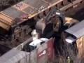 Train Derailment with 120 BMW cars