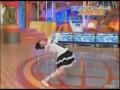 Японка танцует