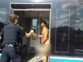 Houston Police Taser Naked Man Who Hits Cop