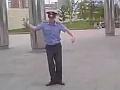 Милиционер жжот