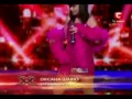 X-factor Ukraine 2010 - Oksana Shavkun - New York(Frank Sinatra - Liza Minelli)