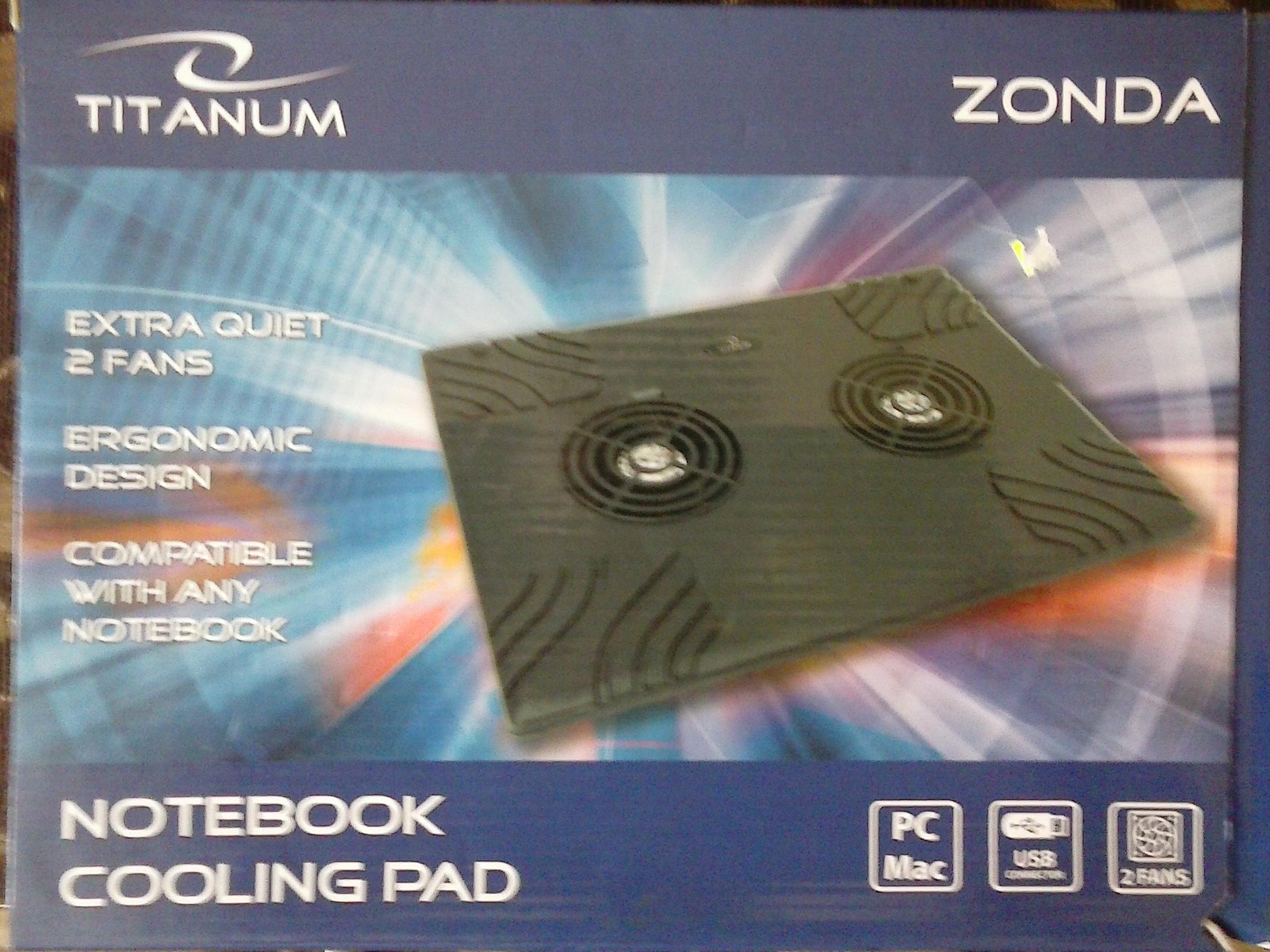 Охлаждающая подкладка под ноутбук. TITANUM. ZONDA