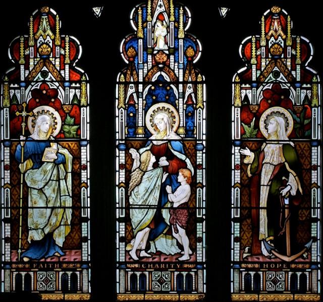 , Надежда, Любовь, St. Mary the Virgin, Newport