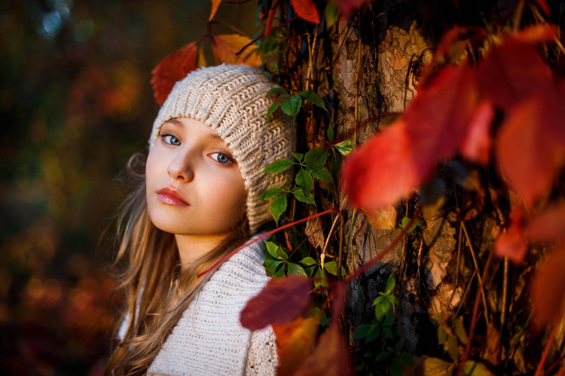 красивые осенние фотопортреты некоторым родителям покажется