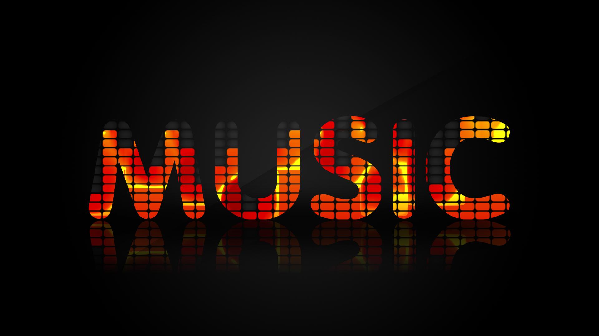 Картинка надпись музыка по русский