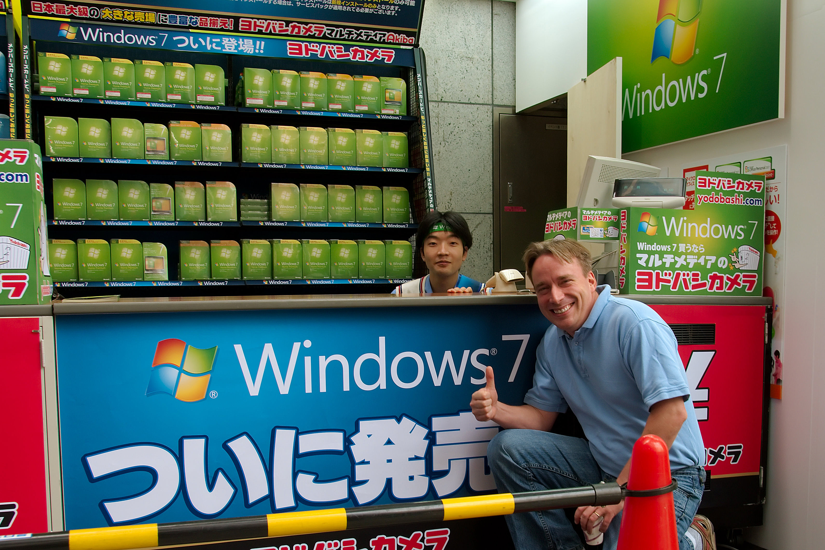 Linus Torvalds recommends Windows 7