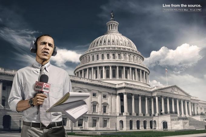 CNN Creative Обама