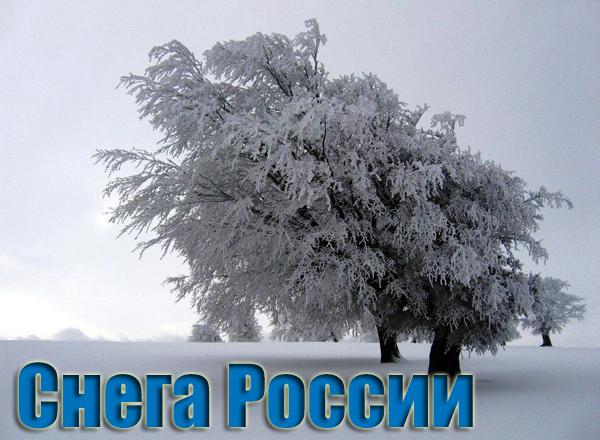 Снега россии текст