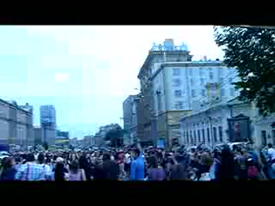 Michael Jackson - Just Beat It Flash Mob in Moscow