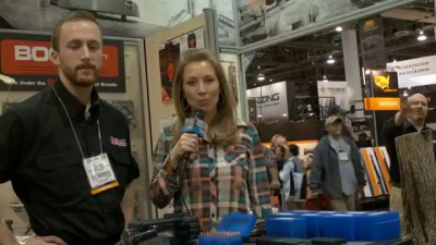 GunsAmerica Shot Show 2014 Day 2 - Battenfeld Technologies Rapid AR-15 Mag Charger
