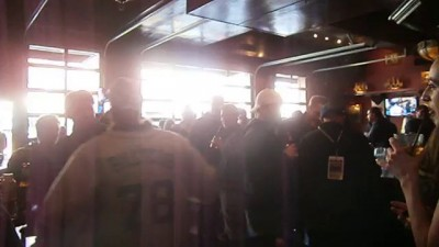 Mascot Punches guy at Wrigleyville Bar.
