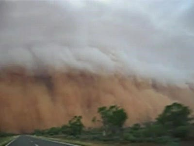 Broken Hill Dust Storm Australia