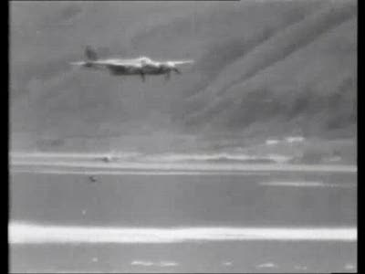 Dambuster Raid - VERY RARE test film including fatal American trial