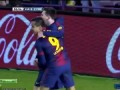 Lionel Messi Great Goal Valladolid Vs Barcelona 0 - 2 HD 22/12/2012