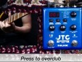 NUX JTC Drum & Loop PRO Dual Switch Looper Pedal