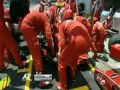 F1 Brazil fire at pit stop