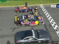 Red Bull F1 Car vs Mercedes AMG SL63 vs. V8 SuperCAR 2013 (Melbourne Australia) Speed Comparison