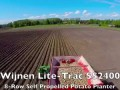 Посадка картофеля Wijnen Lite Trac SS2400 | 8-row Self Propelled Potato Planter | pootmachine | kart