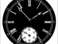 free-flash-clock-46_римские черный