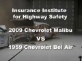 2009 Chevy Malibu vs 1959 Bel Air Crash Test | Consumer Reports
